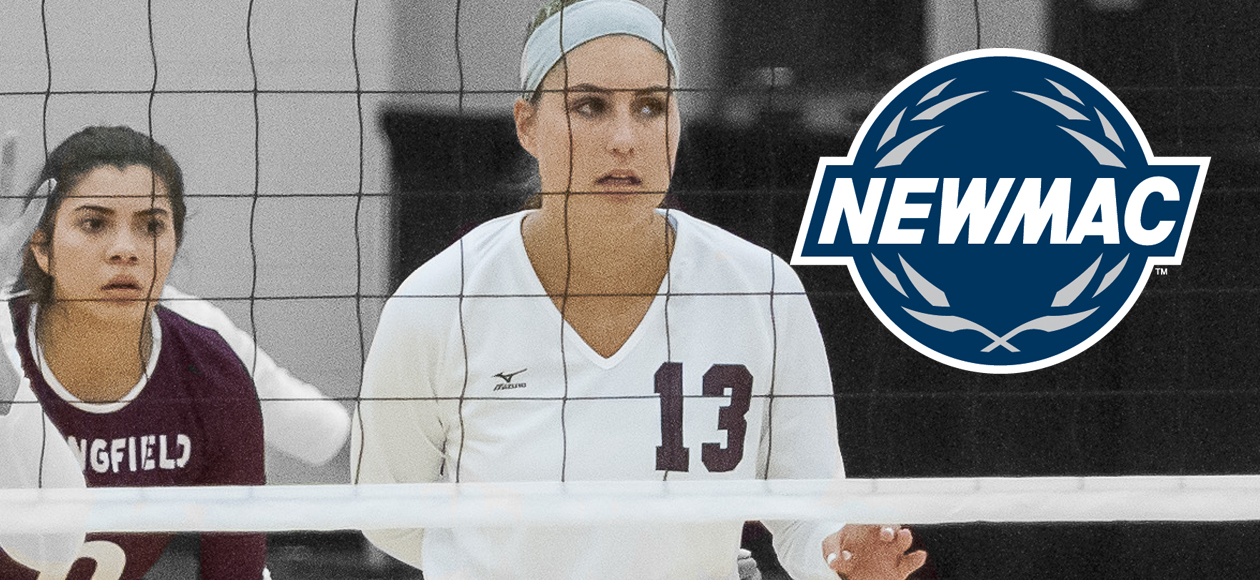 Kmetz and Sanchez Earn NEWMAC Women's Volleyball Weekly Honors