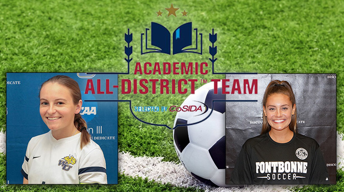 Pair of Women's Soccer Players Named CoSIDA Academic All-District