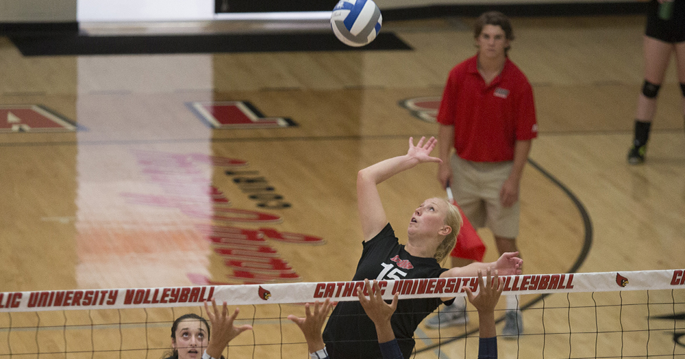 Catholic Volleyball Perfect at EMU Invite