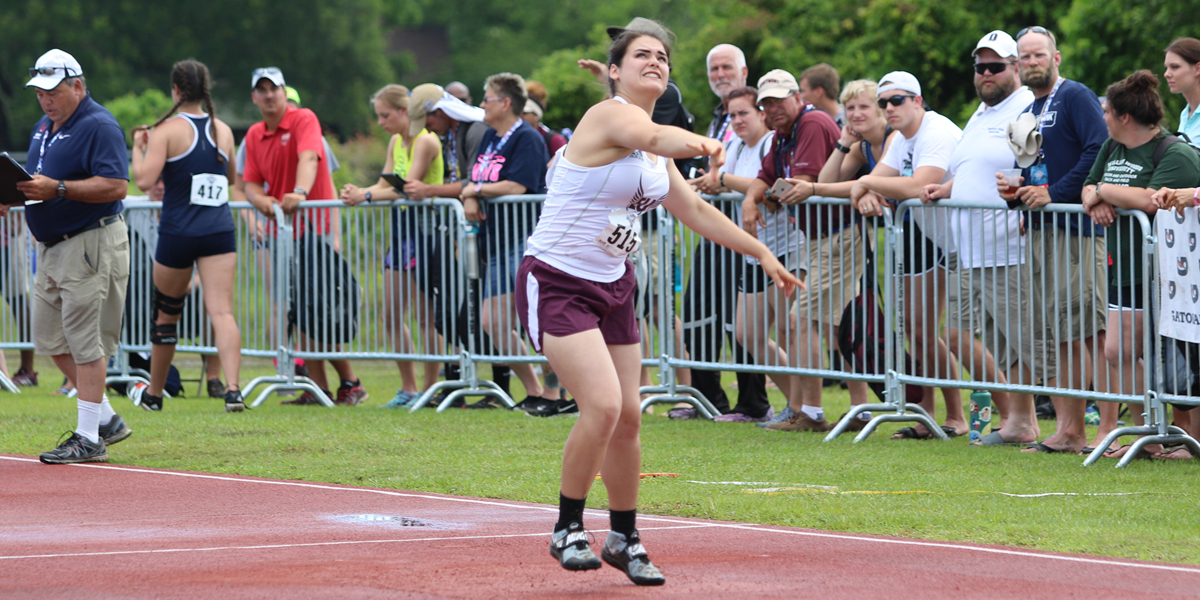 Allison Newport Earns Top 20 Finish in Javelin at NAIA National Championships