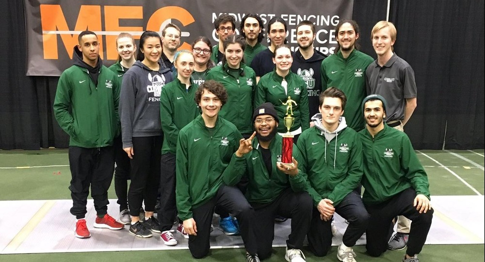 Men's Foil Finishes Second at Midwest Championships