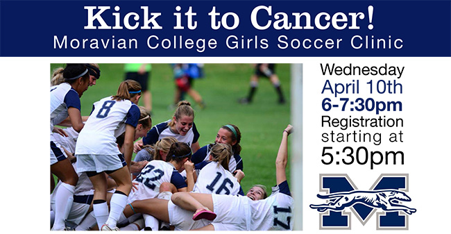 Moravian Hosting Girls Soccer Clinic for Griffin's Friends on April 10th