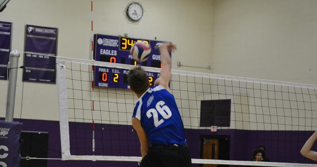 Men's Volleyball Fall 3-0 to Campbellsville