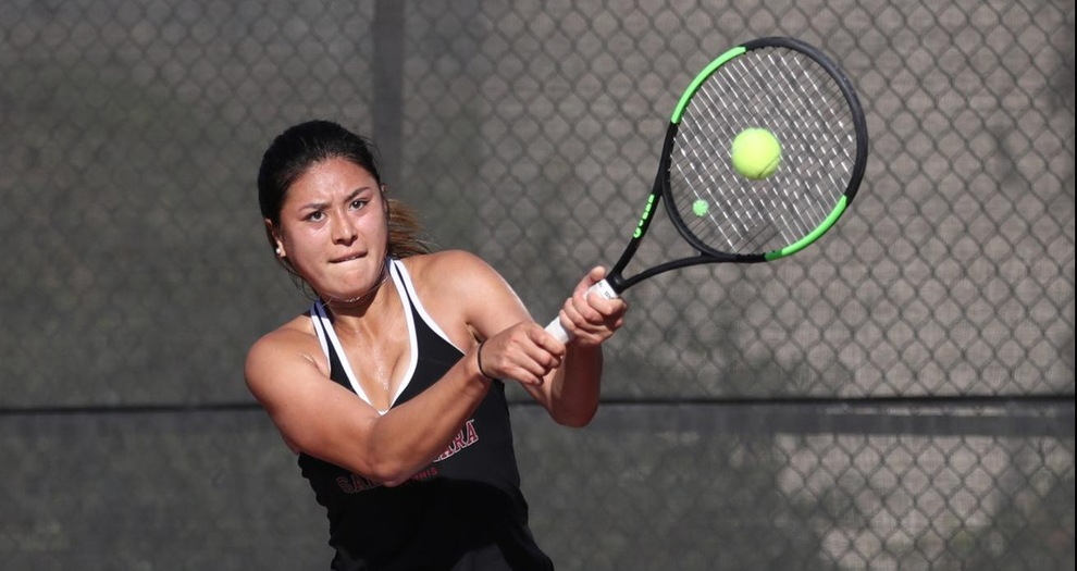 Two Wins for Women's Tennis in Second Day of Bronco Invitational