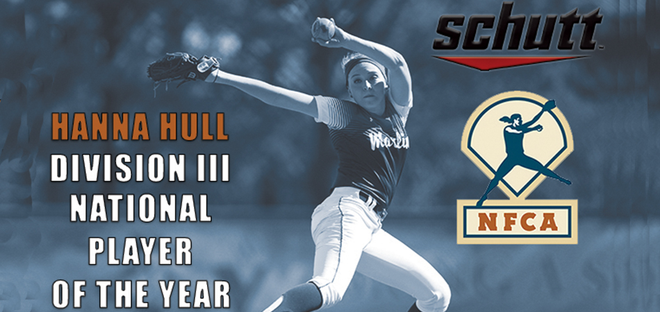 Hull Named Schutt Sports/NFCA National Player of the Year, First in Program History