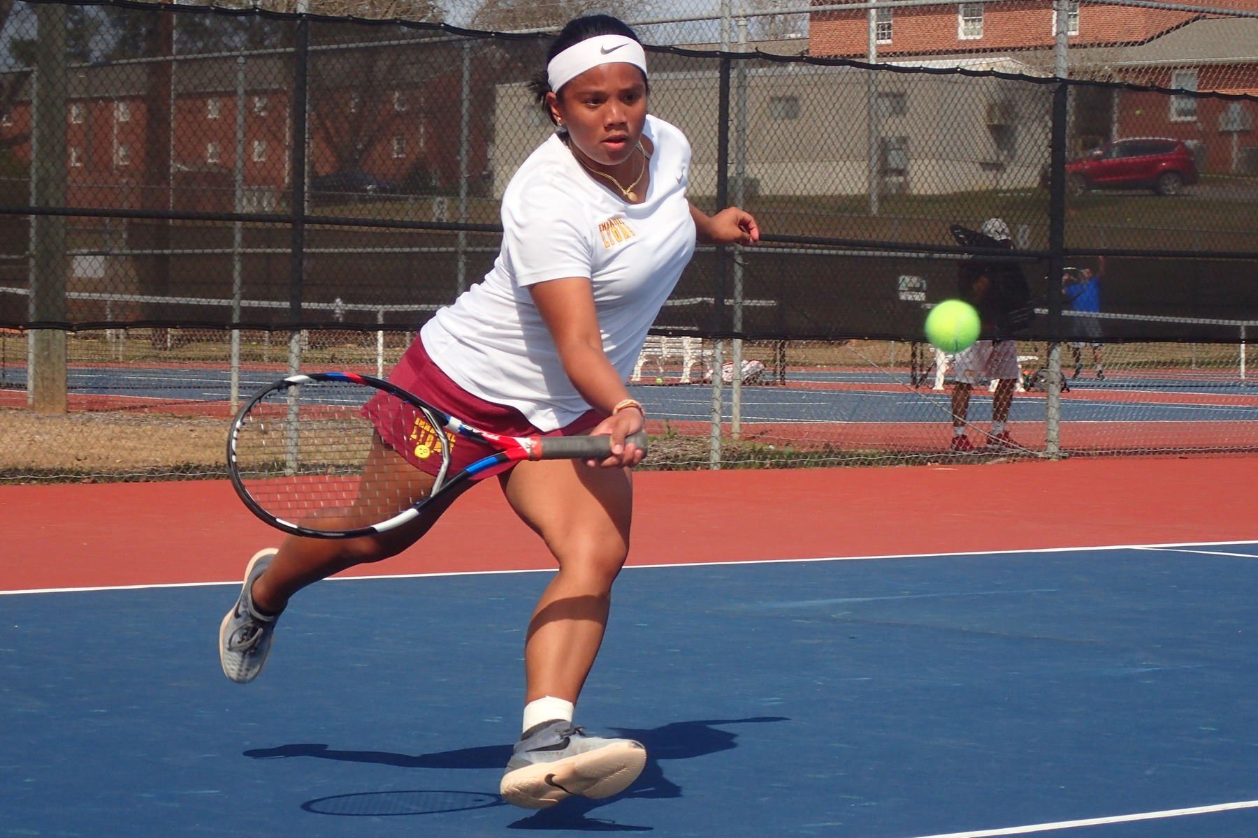 Lady Lions Tennis Team defeats Saints for 6th Straight Win!