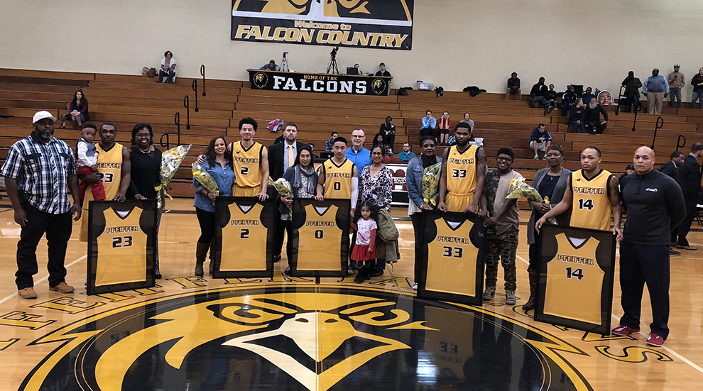 Men's Basketball Earns Big Win on Senior Night