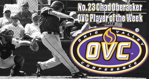 Oberacker owns the votes for OVC Player of the Week