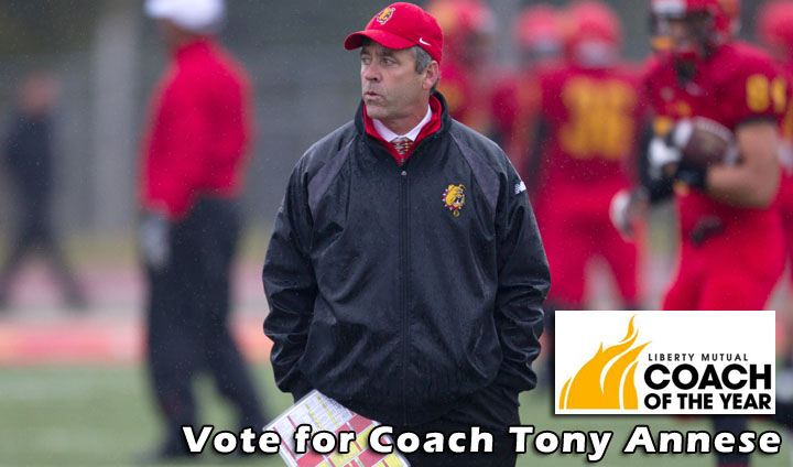Vote Tony Annese For Liberty Mutual Coach Of The Year!