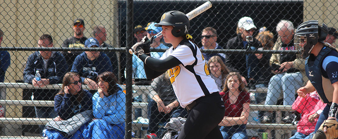 Softball Falls To Alabama-Huntsville, Shorter On Final Day Of Charger Chillout