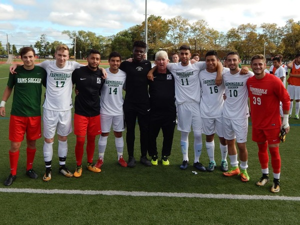 Senior day for men's soccer