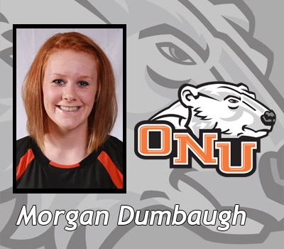 Morgan Dumbaugh's late basket lifts Women's Basketball past #25 Otterbein 52-50
