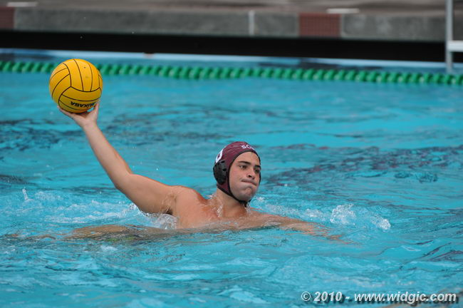 Meet Men's Water Polo Player Theo Nasser