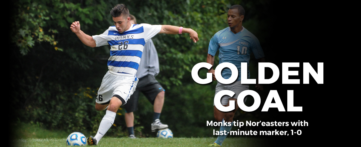Monks Tip Nor'easters 1-0, Ramirez Nets Winner with 18 Seconds Remaining