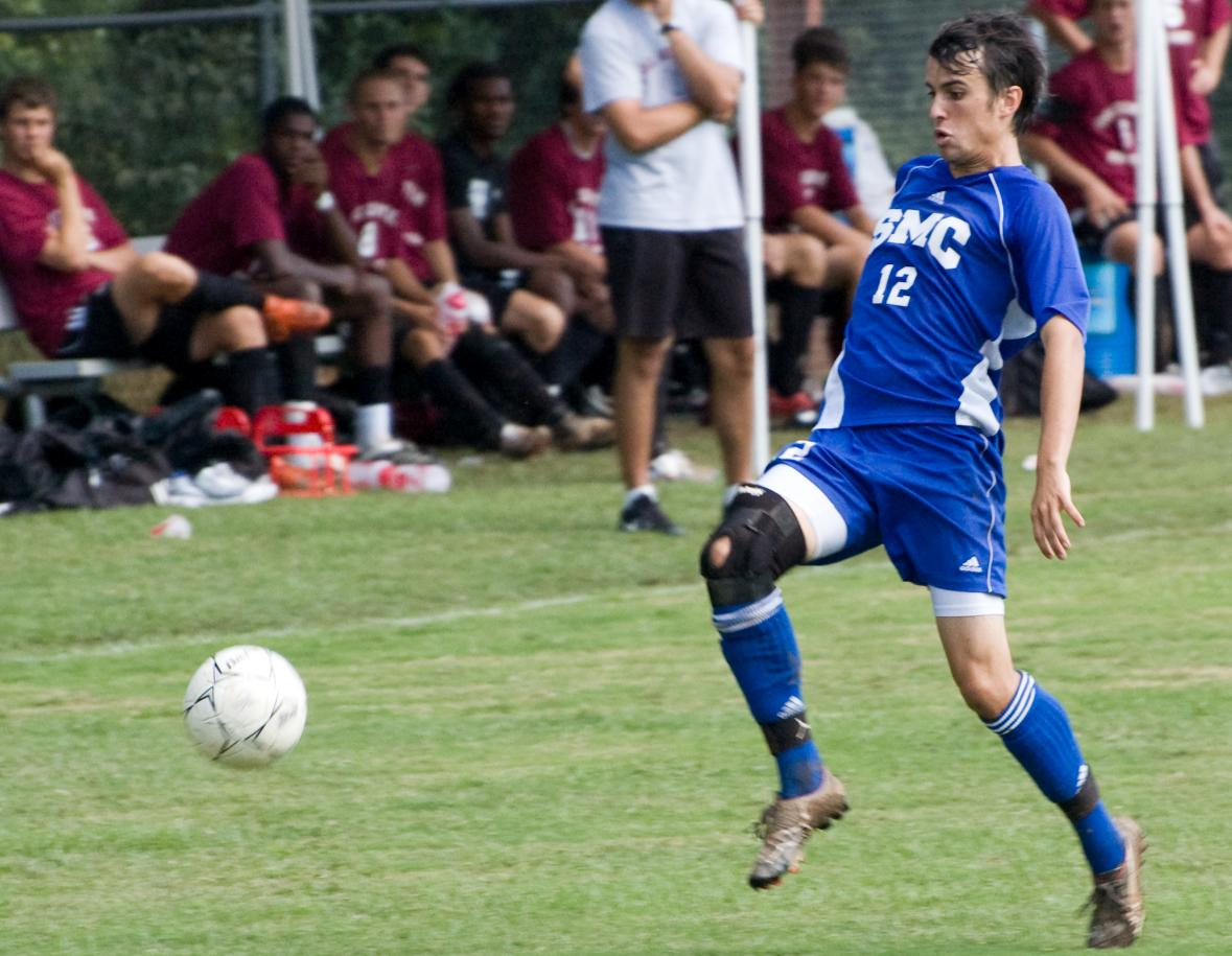 SMC Men's Soccer takes on Cape Fear CC