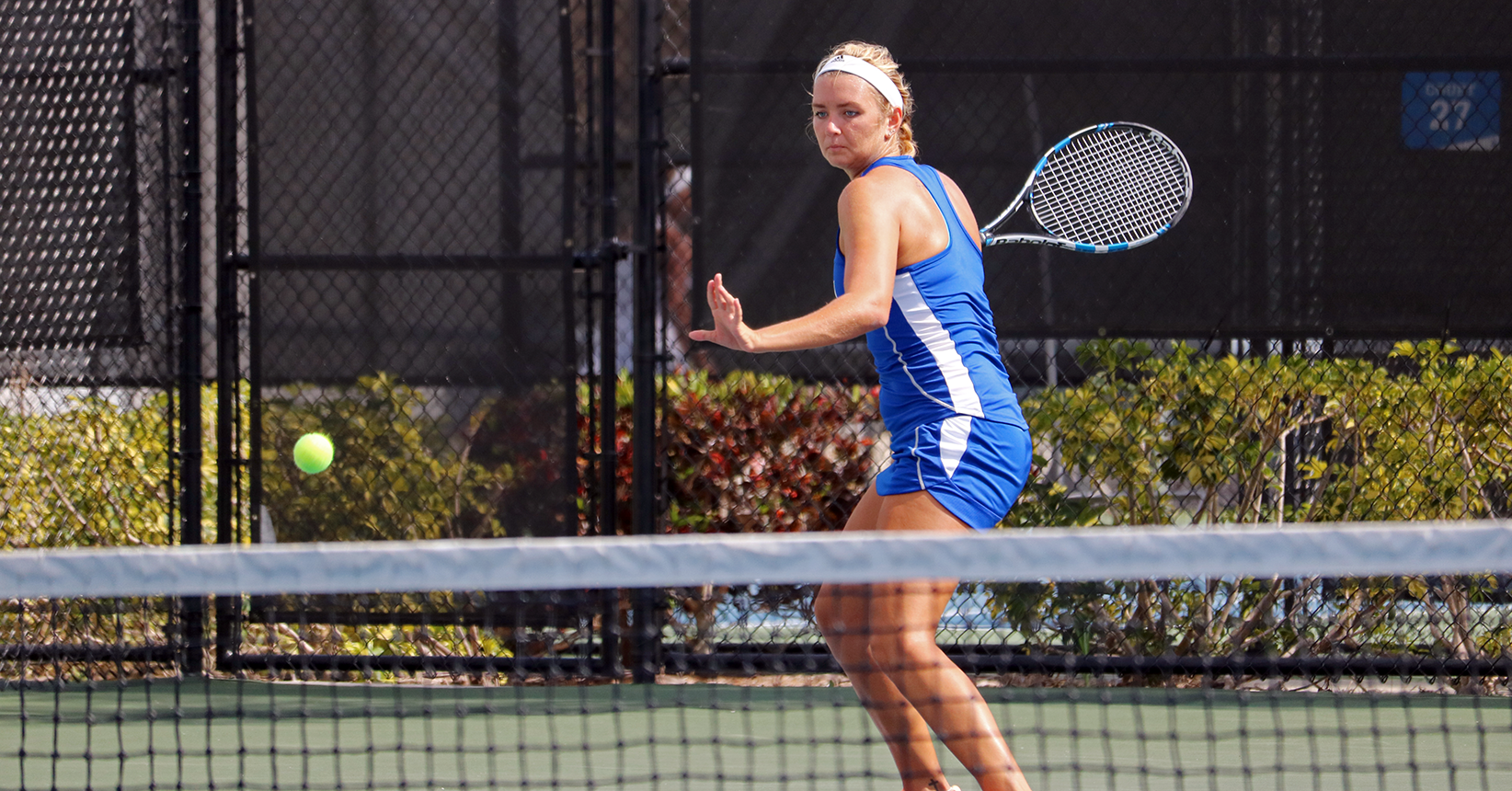 No. 2 Women's Tennis Begins SSC Title Defense