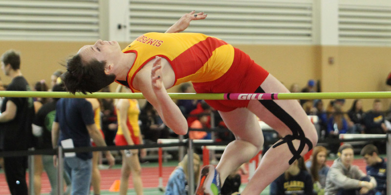 Galbraith, men's 4x2 win titles on first day of IIAC Championships