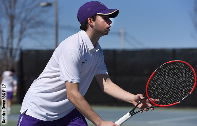 Men's Tennis Loses to Regional Power Merrimack