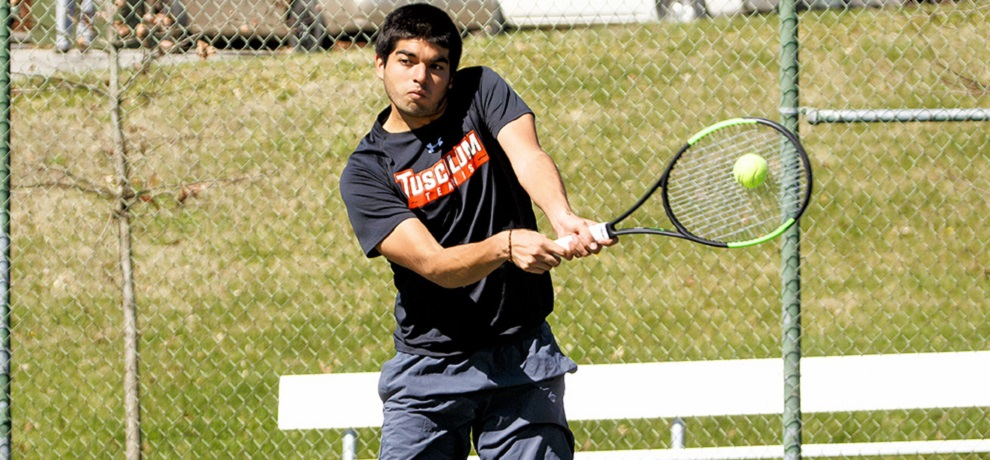 Three-set win boosts #42 Tusculum to 5-4 win at Lincoln Memorial