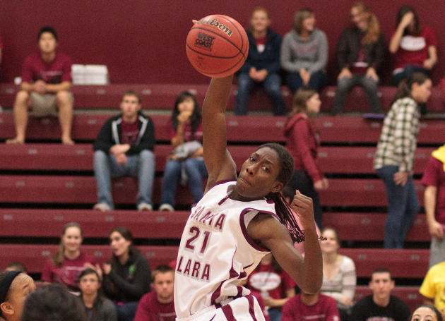 Lena Gipson Leads Santa Clara Women Past Pacific