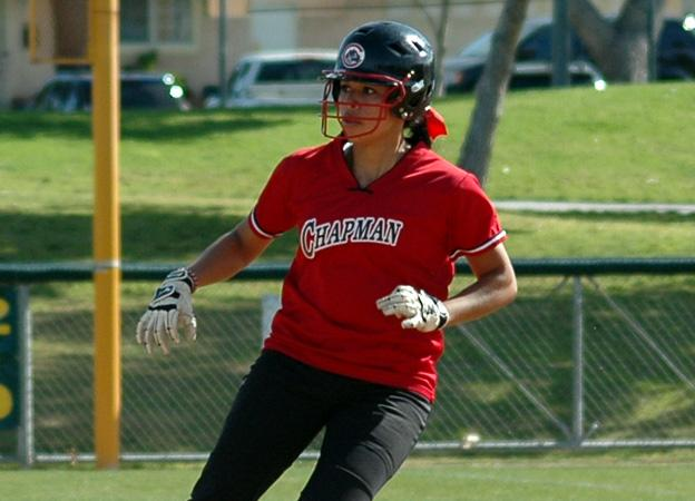Whittier takes two from softball in SCIAC opener