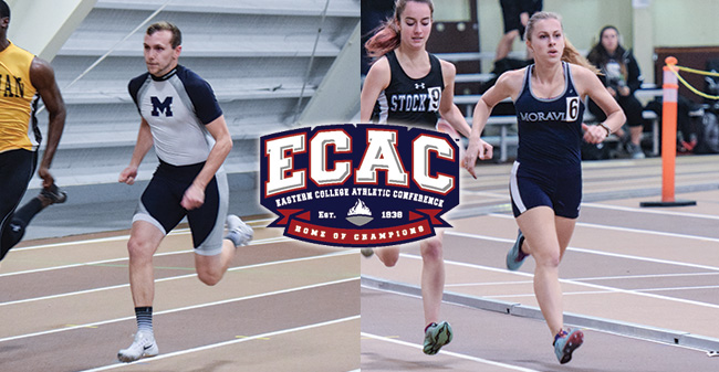 16 Greyhounds Set to Compete at 2017 ECAC DIII Indoor Track & Field Championships