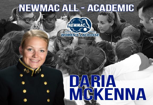 McKenna Named to NEWMAC All-Academic Team