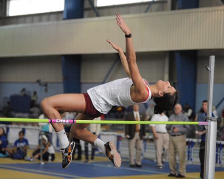 Freshman Sarah Taylor Kept Her School Record Breaking Streak Alive In The Pole Vault Breaking The School Record For The Fourth Time In Four Collegiate