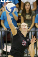 Bronco Volleyball Hosts Dons and Toreros In Final Home Matches