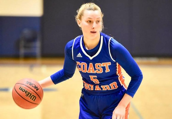 Micaela Martinelli led Coast Guard with 20 points