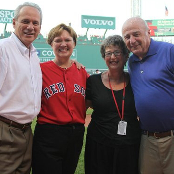 President Pasquerella and Red Sox Owners