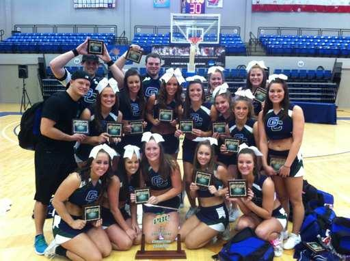 Bobcat Cheerleaders Take PBC Championship