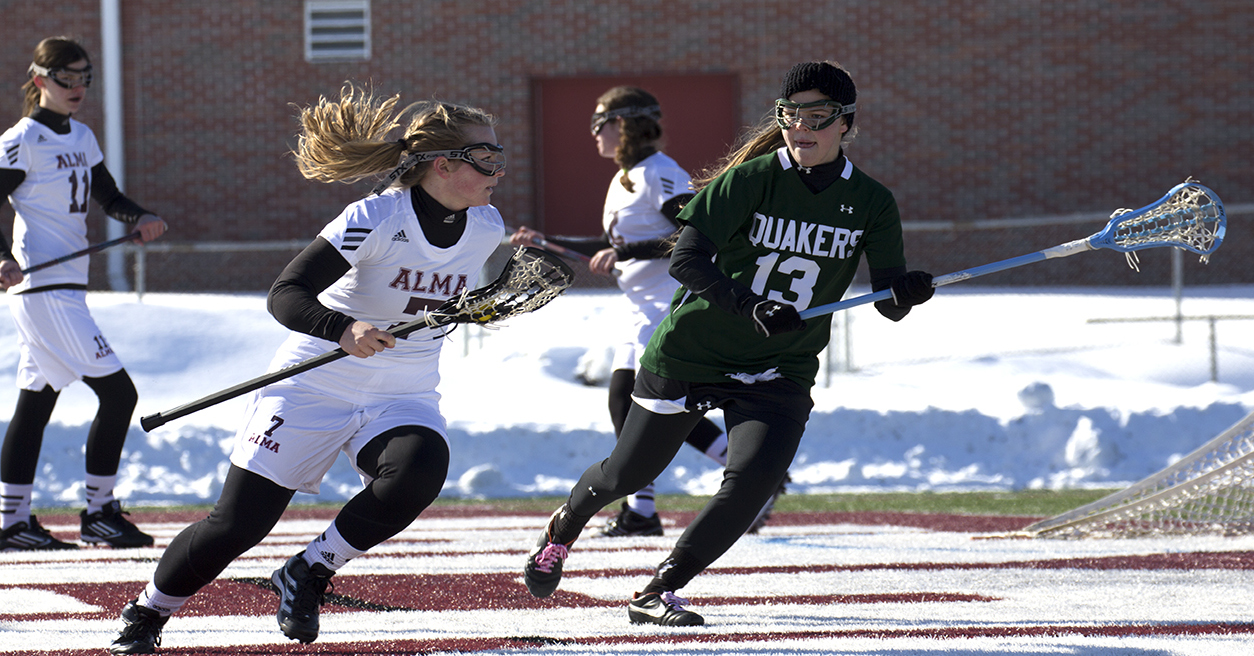Women's Lacrosse defeated 14-2 at Otterbein on Sunday afternoon