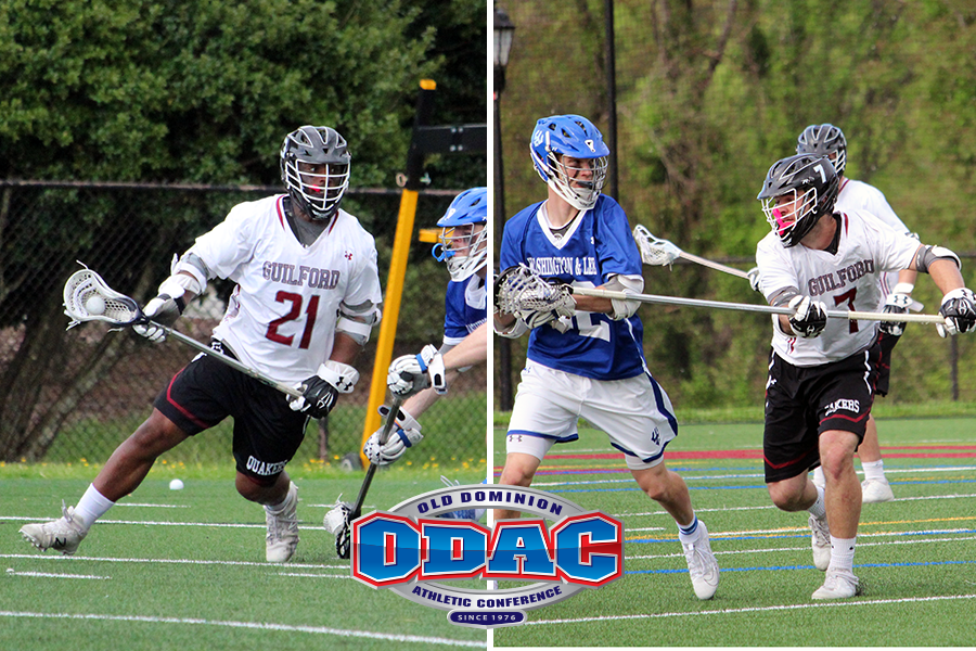 Guilford Pair Named to All-ODAC Men's Lacrosse Team