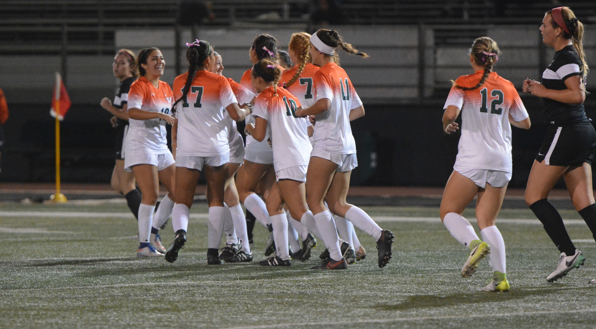 Women's Soccer beats Chapman at home