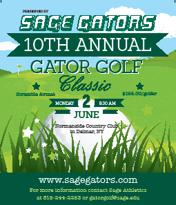 Sage Athletic Department is Excited about 10th Annual Gator Golf Classic!
