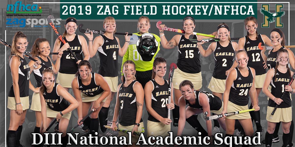 16 Eagles Land a Spot on the 2019 Zag Field Hockey/NFHCA DIII National Academic Squad