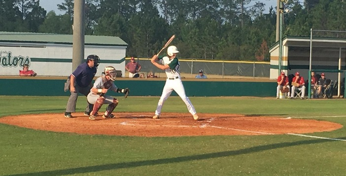 Gators Fall Late to Lowndes, 12-10