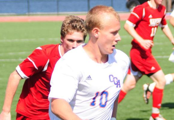 Third-Seeded Springfield Upsets Men's Soccer