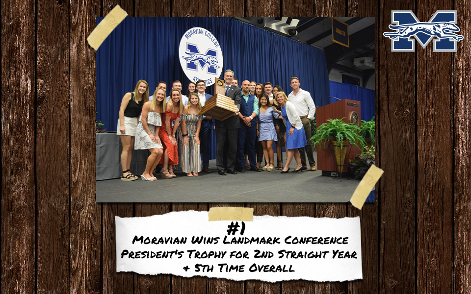 Top Stories of 2018-19 - No. 1 Moravian Claims Second Straight Landmark Conference Presidents' Trophy