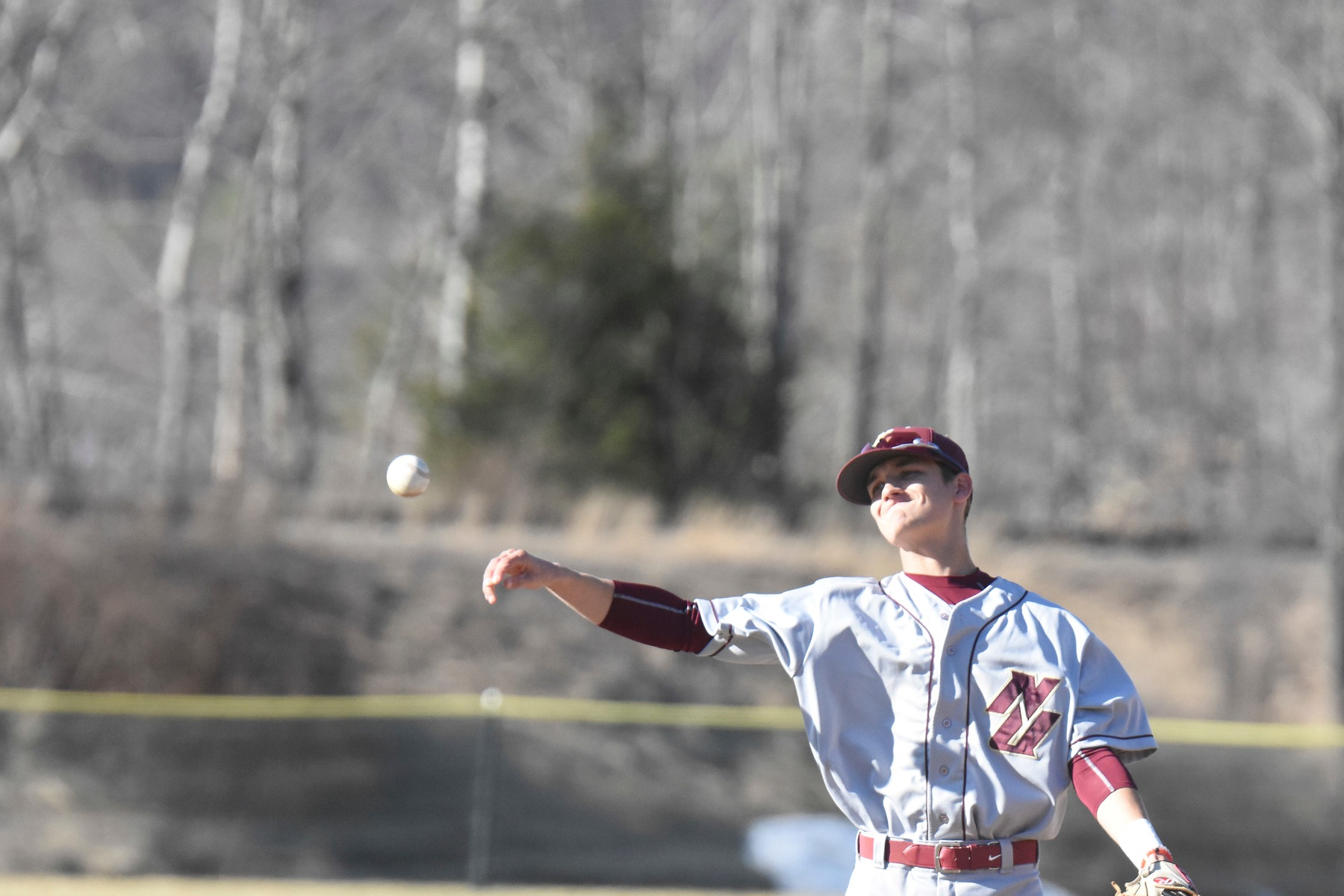 Baseball: Pacers Take Twinbill From Cadets