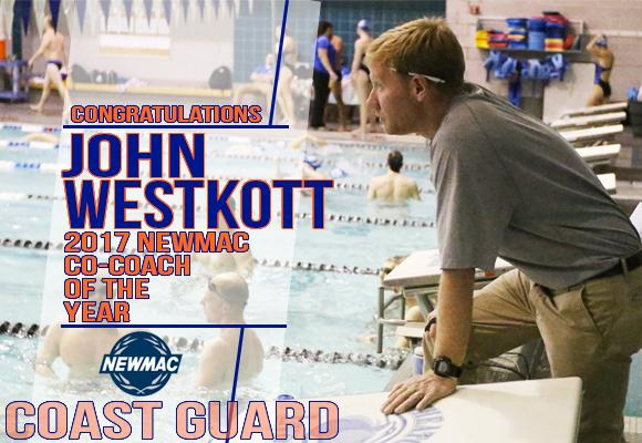 Westkott Named NEWMAC Men's Co-Swimming Coach of the Year