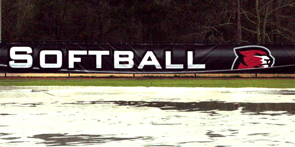 Saturday and Sunday softball games canceled