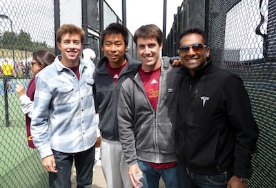 Thomas Keiffer (CMC '10), Brandon Wei (HMC '12), Eric MacColl (CMC '10), and Kirth Narasimhan (CMC '08)