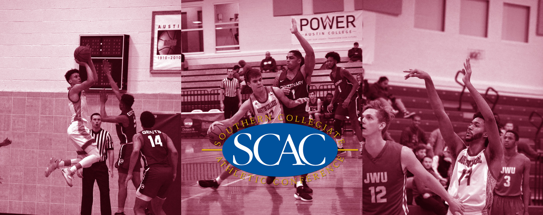 Three From 'Roo Men's Hoops Earn All-SCAC
