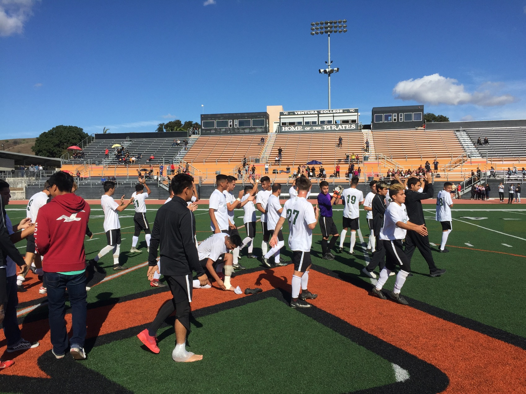 M Soccer: Perdomo Nets Two Goals to Lift the Rustlers to State Title