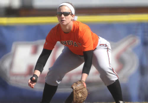 Oilers Softball Run in GLIAC Tournament Ends