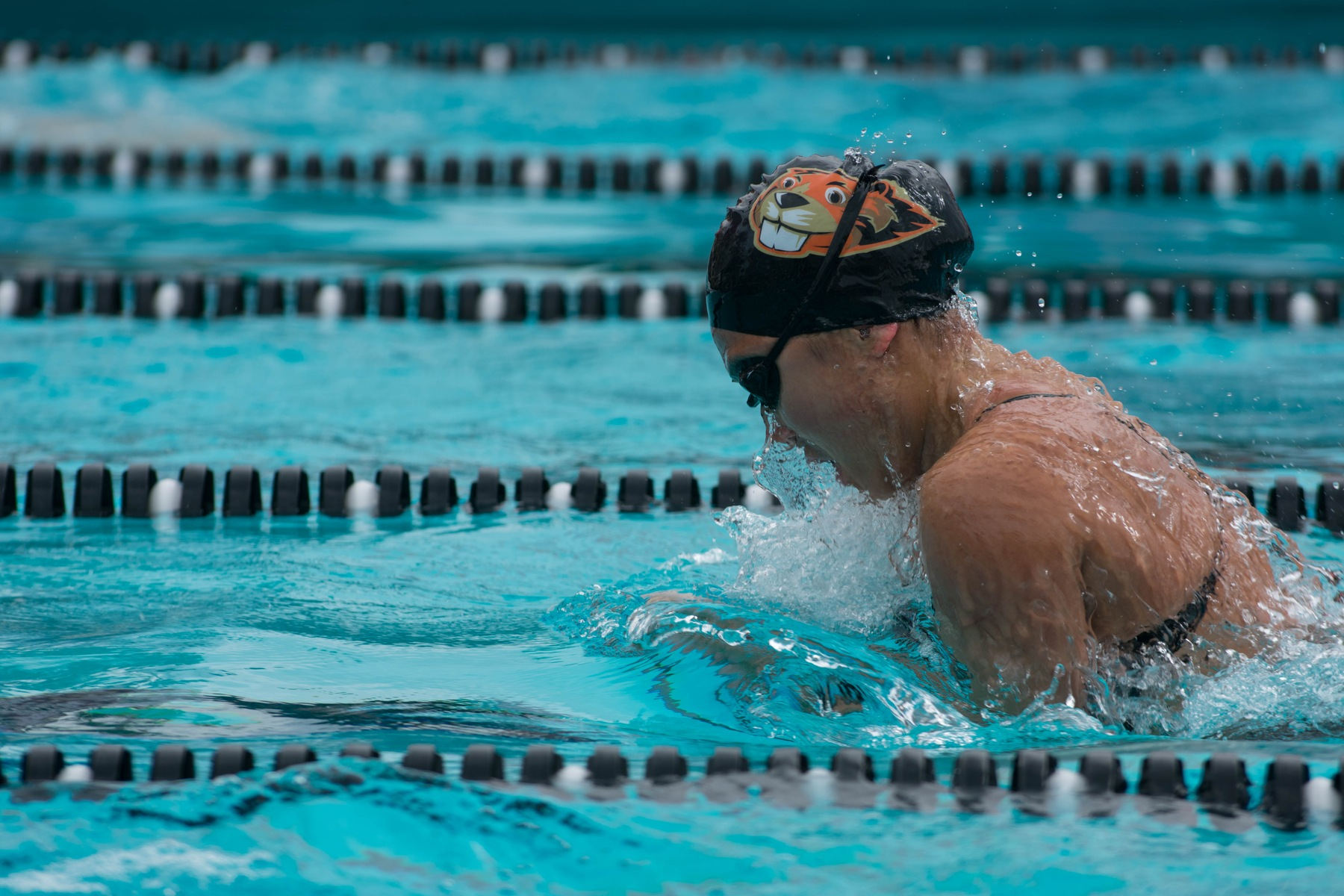 Shorthanded Women Swim Well at Redlands