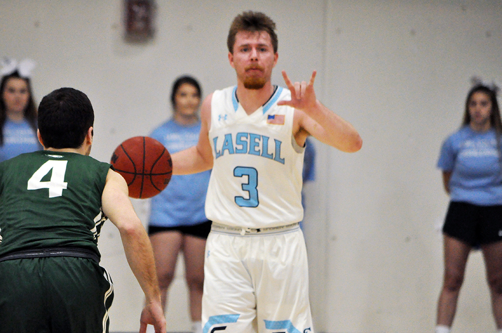 Lasell Men's Basketball falls to Babson
