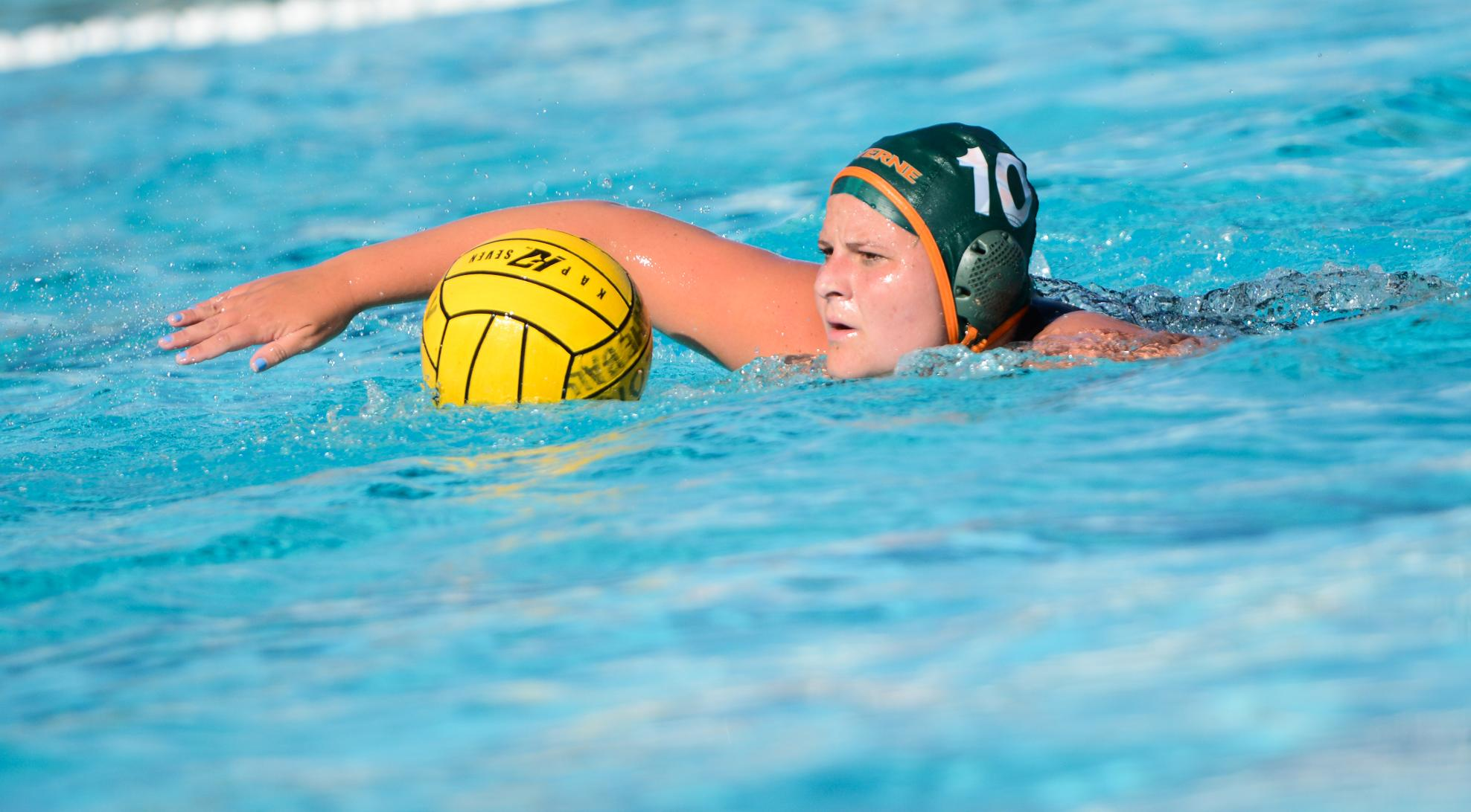 Women's Water Polo tops Redlands, 12-7